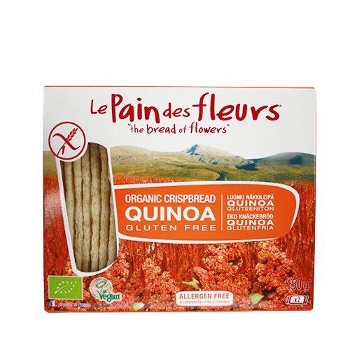 Le Pain Des Fleurs Knækbrød Quinoa Glutenfri Ø