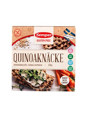 Knækbrød quinoa