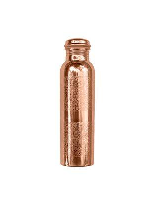 Kobber Vandflaske Indgraveret 900 ml