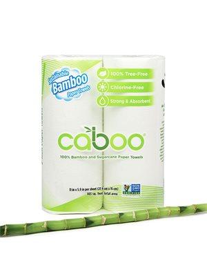 Køkkenruller af bambus 2 stk