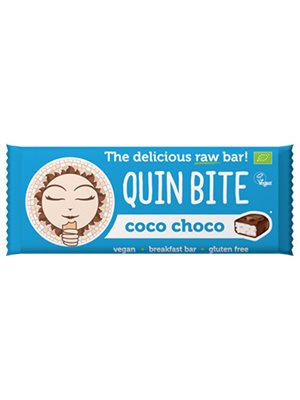 Kokos choko bar - Quin Bite