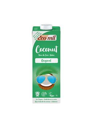 Kokos mælk m. agave Ø Ecomil