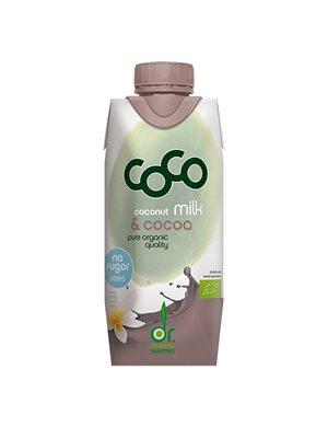 Kokosdrik m. kakao Ø