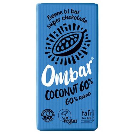 Kokosnød 60 % Ombar Ø