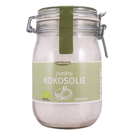Kokosolie koldpresset jomfru Ø Spis Økologisk