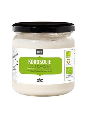 Kokosolie (u.smag - ideel  til stegning) Ø