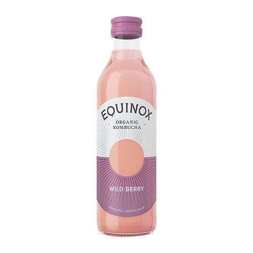 Equinox Kombucha Te Raw Wild Berry Ø