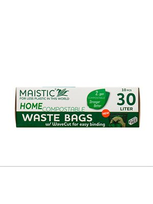 Komposterbar Affaldspose til at binde 30 L