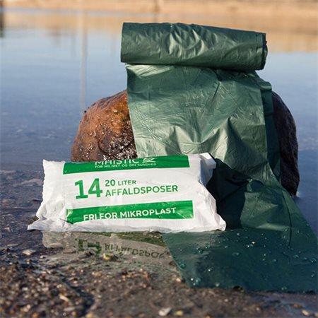 Komposterbare affaldsposer 20L