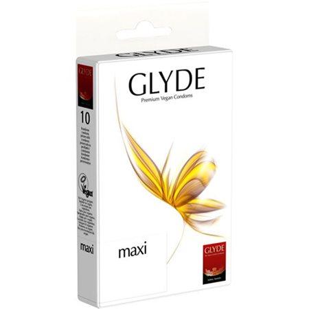 Kondomer maxi indh. 10 stk. L 190mm, B 56mm, Tykkelse 0,062mm