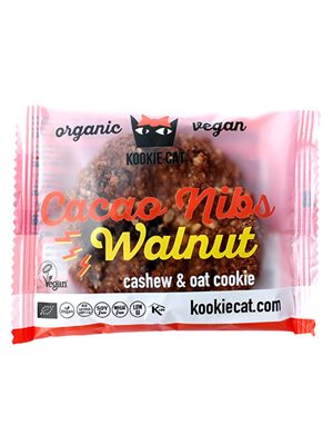 Kookie Cat Cacao nibs walnut Ø
