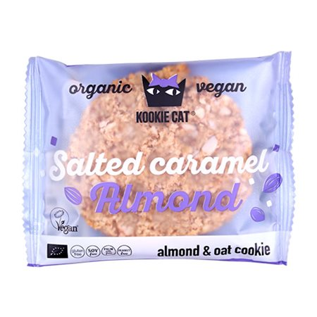 Kookie Cat Salted karamel Ø mandel