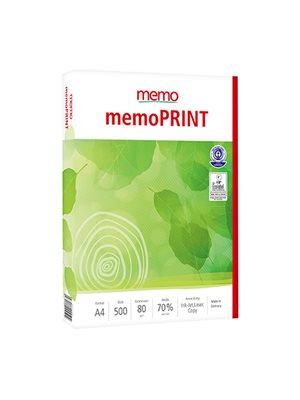 Kopipapir af genbrugspapir  500 ark memo