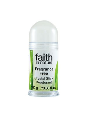 Krystal Deodorant Fragrance  Free Faith in nature