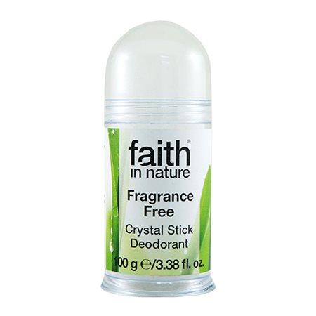 Krystal Deodorant Fragrance  Free Faith in nature