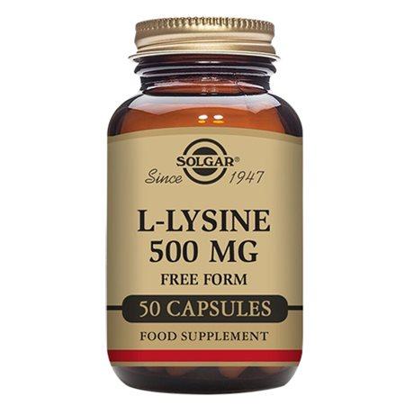 L-Lysin aminosyre 500 mg