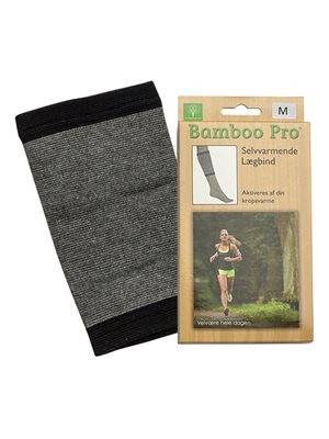 Lægbind, Str. M selvvarmende Bamboo Pro