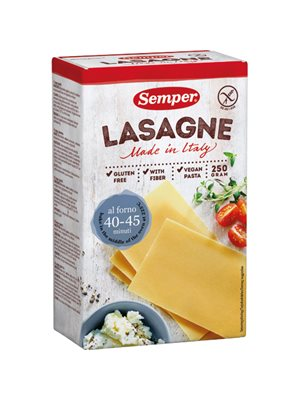 Lasagne glutenfri Semper