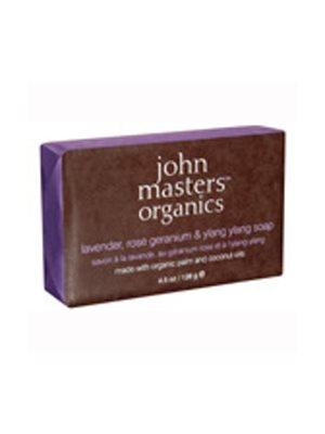 Lavender Rose Geranium  &Ylang Ylang Sæbe John Masters til krop og hænder