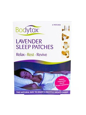 Lavender sleep patches 6 stk.
