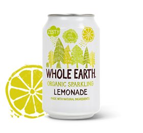 Lemonade Soda i dåse Ø  Whole Earth