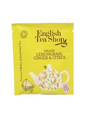 Lemongrass, ginger & citrus Ø  tea - 50 breve