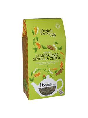 Lemongrass ginger citrus tea Ø