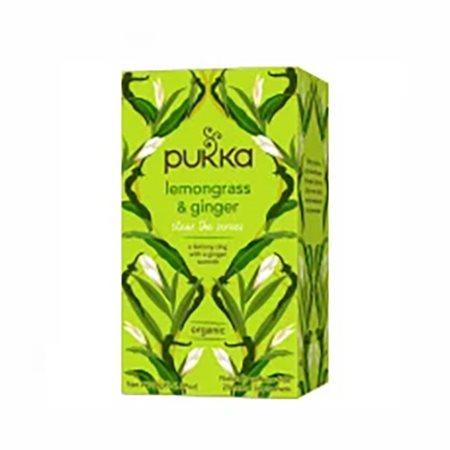 Lemongrass & Ginger te Ø Pukka