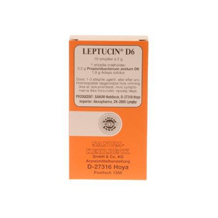 Leptucin D6 stikpiller 10 stk