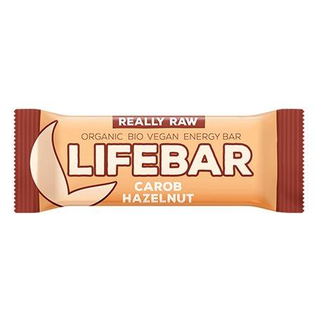 LifeBar Carob Hasselnød RAW Ø