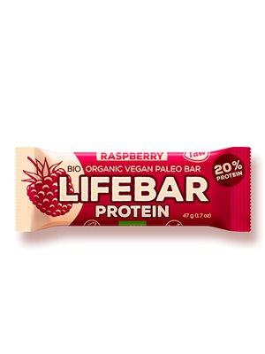 LifeBar Raw Proteinbar Ø Raspberry