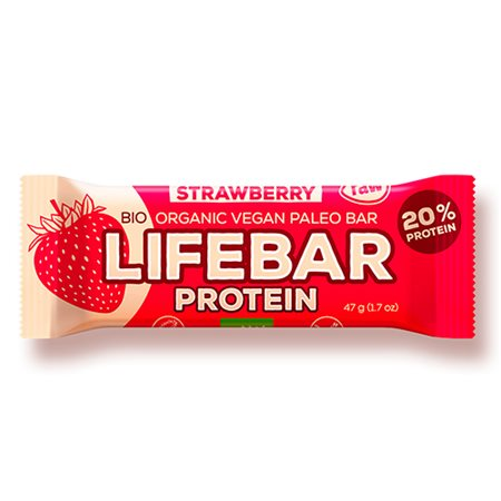 LifeBar Raw Proteinbar Ø  Strawberry