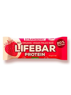 LifeBar Strawberry Proteinbar RAW Ø
