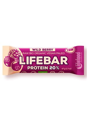 LifeBar WildBerry Proteinbar Ø
