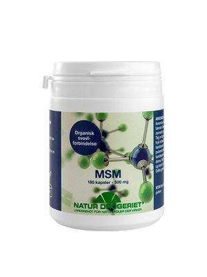 Lignisul MSM kapsler 500 mg  Til kosmetisk brug