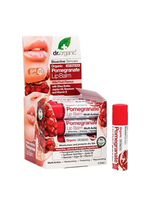 Lip balm Pomegranate 5,7 ml Dr. Organic