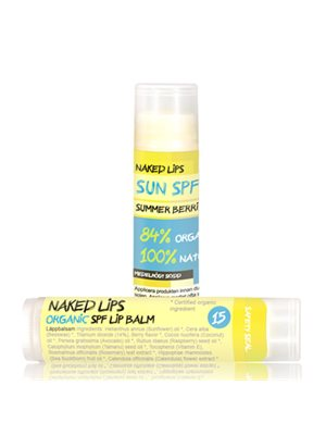 Lip Balm SPF 15 Naked Lips