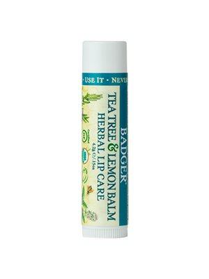 Lip Balm Tea Tree & Lemon  Herbal Lip Care