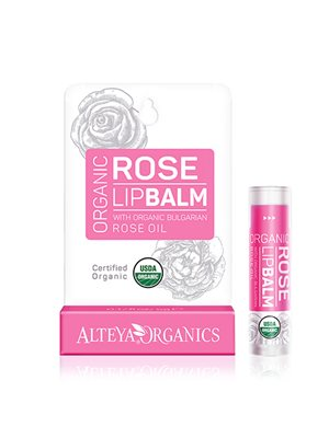 Lipbalm bulgarian rose oil Alteya Organics