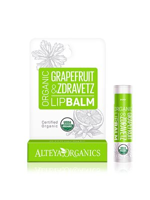 Lipbalm grapefruit zdravetz Alteya Organics