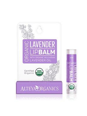 Lipbalm lavender Alteya Organics