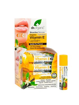 Lipbalm Vitamin E Dr. Organic