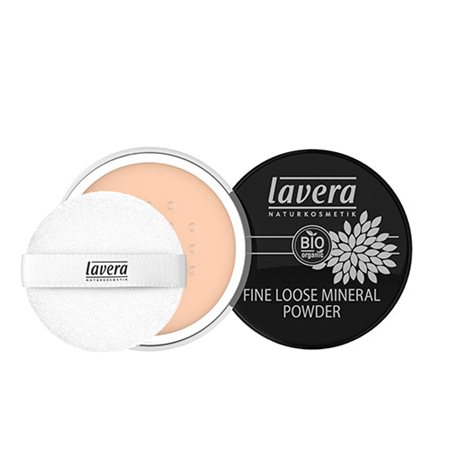 Loose Mineral Powder Ivory 01  Fine