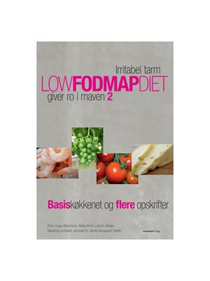 Low fodmap diet 2 bog  Forfatter: Stine Junge Albrechtsen m.fl