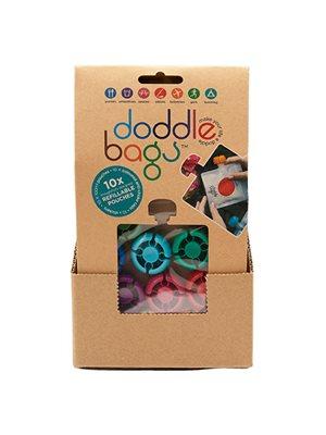 Madposer doddlebags 8 stk med tusch