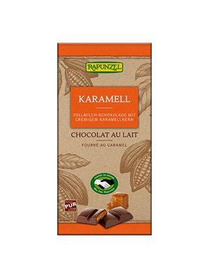 Mælkechokolade m. karamel Ø