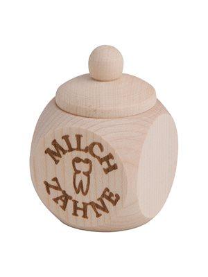 Mælketandsdåse i ahorntræ