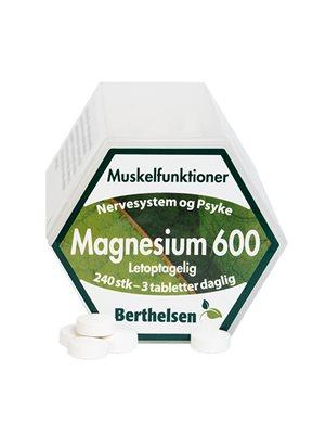 Magnesium 600 Berthelsen
