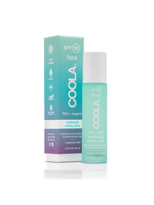 Make-up setting spray SPF 30 tea/aloe Coola