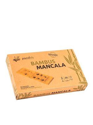 Mancala kalaha spil i bambus
